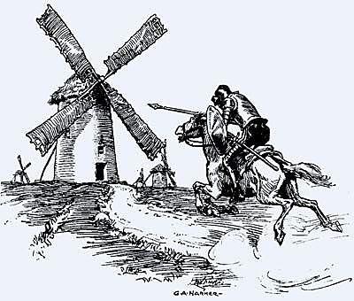 Don Quijote de la Mancha Capitulo 8
