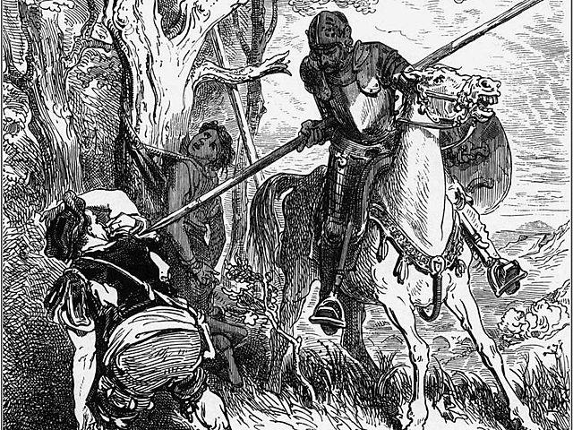 El ingenioso hidalgo Don Quijote de la Mancha (capitulo 4)