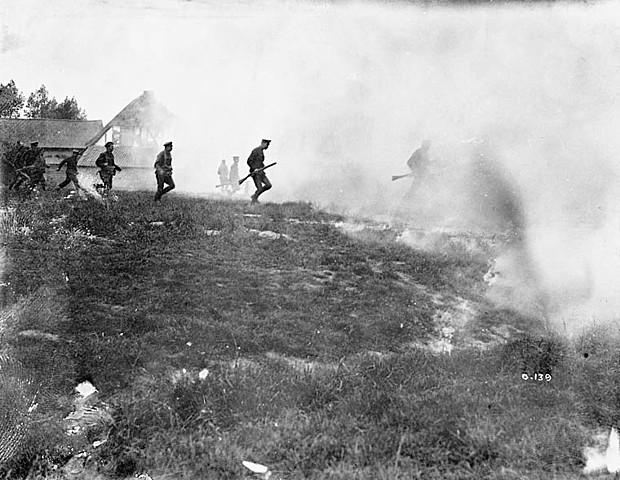 La bataille de Mont Sorrel