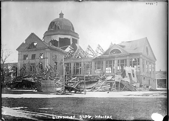 explosion du bateau Mont Blanc à Halifax