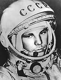 First man to orbit Earth by USSR
