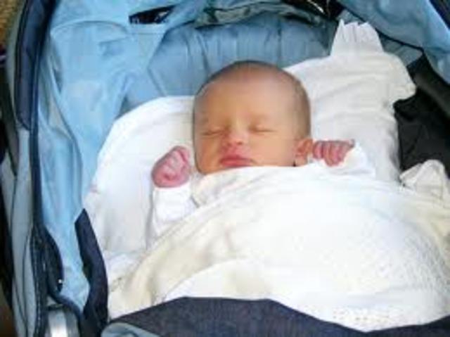 Biosocial/ Psychosocial Event: 2nd child, 1st son Christopher was brn.
