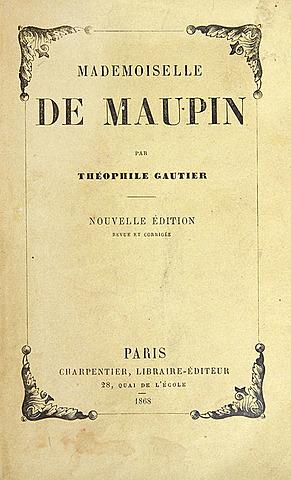 Т. Готье. Мадемуазель де Мопен.