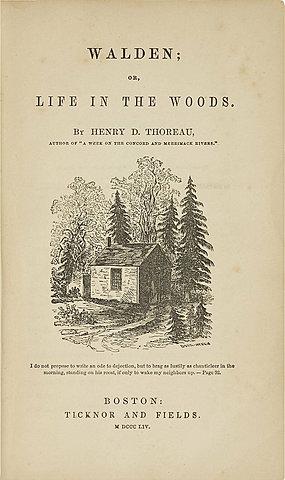 Г. Д. Торо. Уолден, или жизнь в лесу.