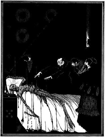 Э. А. По. Правда о том, что случилось с мистером Вальдемаром. 1845