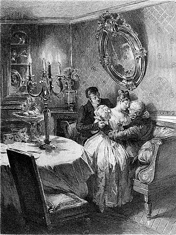 Оноре де Бальзак. Отец Горио.