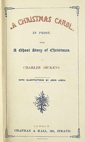 Чарльз Диккенс. Рождественская песнь в прозе.
