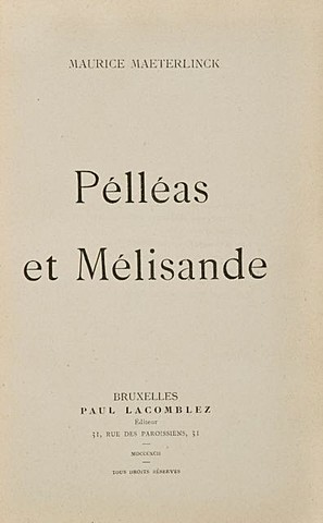 Морис Метерлинк. Пелеас и Мелизанда.