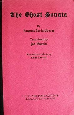 Август Стриндберг. Соната призраков.
