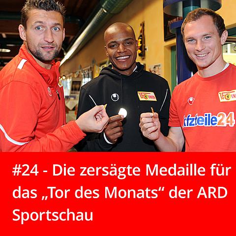 #24 – Die zersägte Sportschau-Medaille
