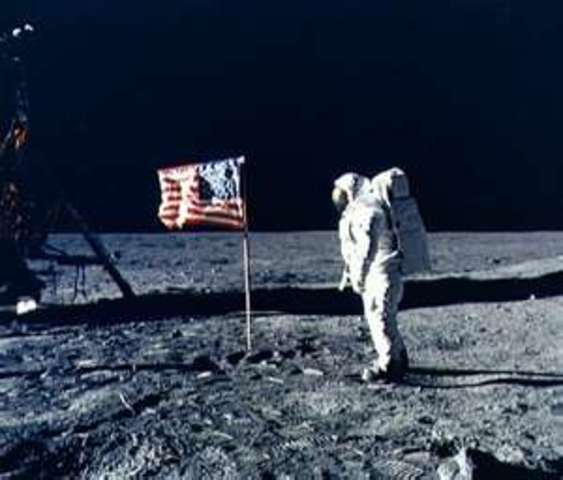 One Small Step For Man, One Giant Leap For Mankind.