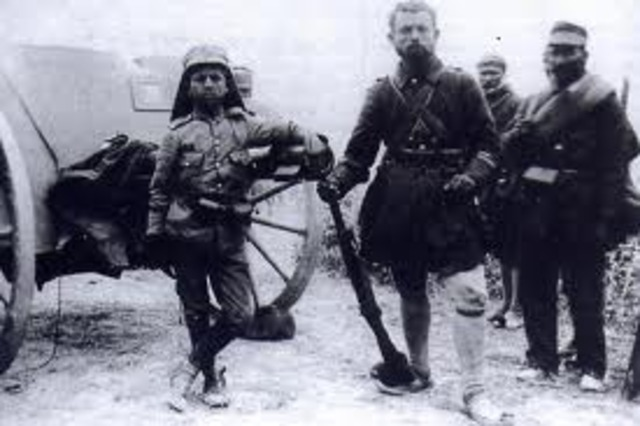1st and 2nd Balkan Wars and the destruction of the Ottoman Empire