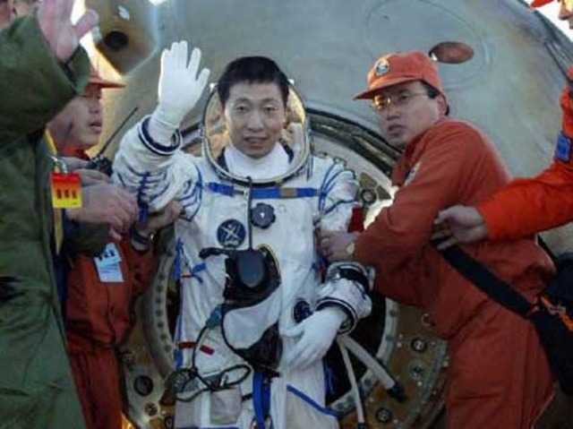 First Chinese Man In Space