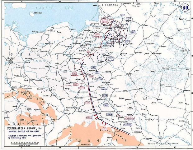 The Second Battle of the Mansurian Lakes