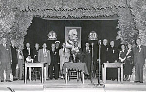 Ouverture du Congrès international des caisses populaires et des «credit unions» à Lévis