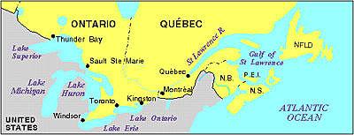 Ouverture officielle de la Voie maritime du Saint-Laurent