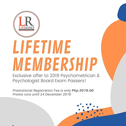 LR offers lifetime membership to RPm and RPsy 2019