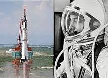 First man in space by USA