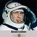 First man to do EVA by USSR