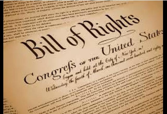 Revolució Bill or rights