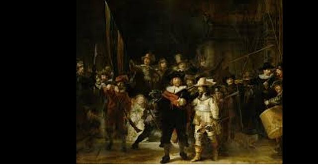 Rembrandt ronda la nit
