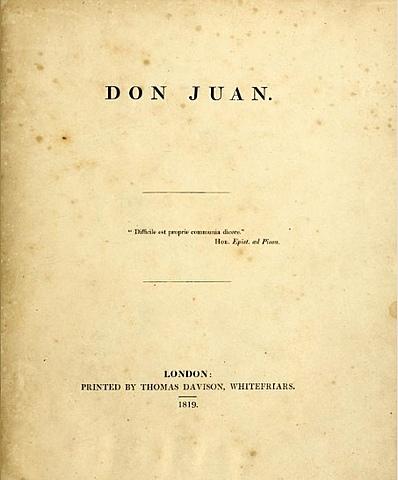 Байрон. Дон Жуан.