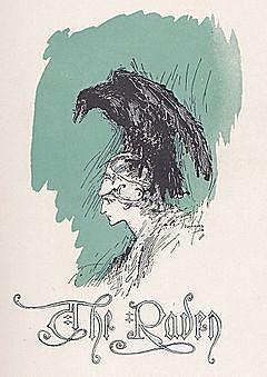 Эдгар Аллан По. Ворон.
