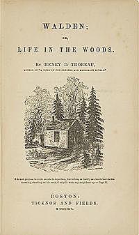 Генри Дэвид Торо. Уолден, или Жизнь в лесу.