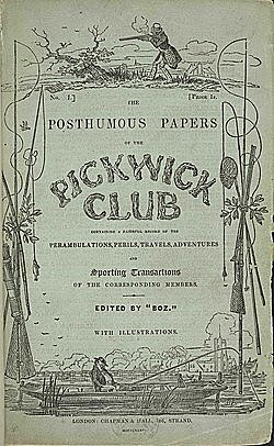 Чарльз Диккенс. Посмертные записки Пиквикского клуба.