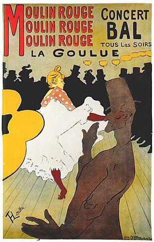 Nº 16 La Goulue TOULOUSE LAUTREC