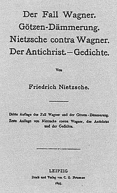 Ницше. Антихрист. Проклятие христианству