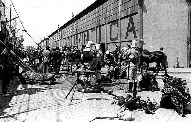 Mobilització contra la guerra: inici del sistema de quintes a Barcelona