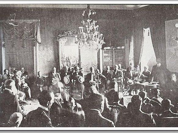 Inici de l'Assemblea de Parlamentaris (conflictivitat política)