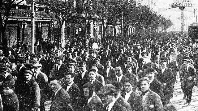 Causes de la vaga general de 1917 (conflictivitat social)
