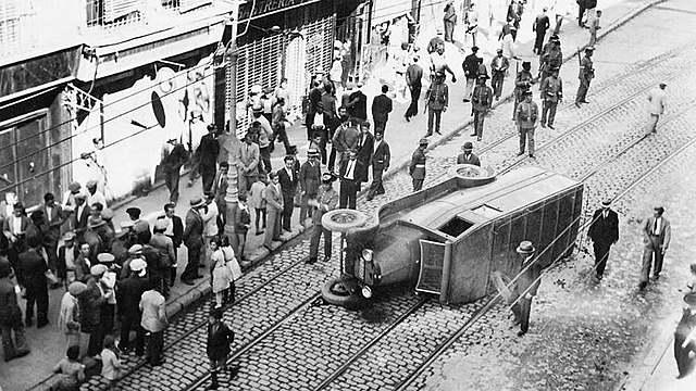Finalització i conseqüències de la vaga general de 1917