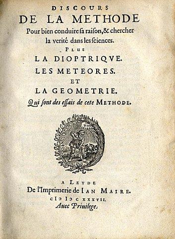 Descartes: Discurs del mètode
