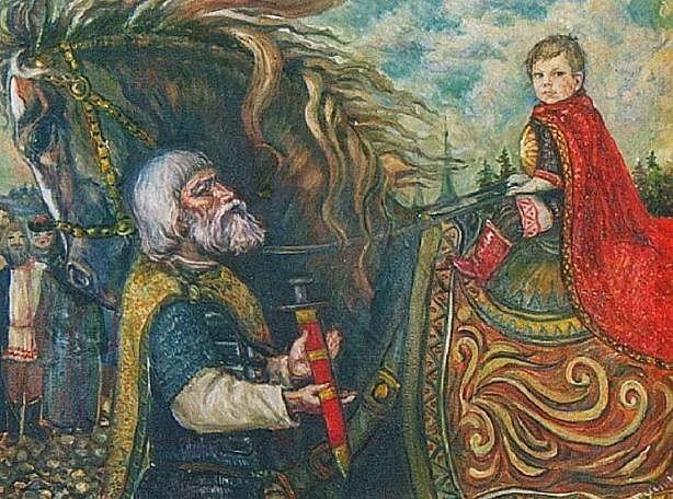 Князь-наместник Александр в Новгороде