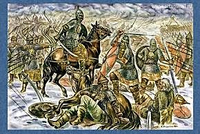 Первая поездка князя Александра в Орду