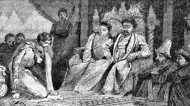 Вторая поездка князя Александра в Сарай-Бату