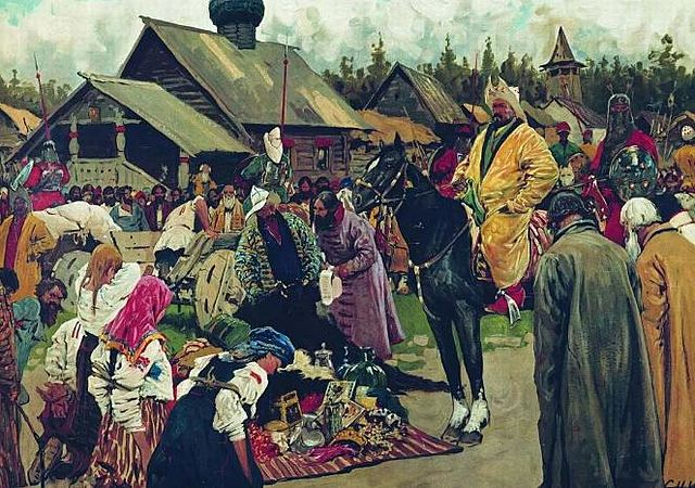 Восстание в Новгороде против ордынской переписи