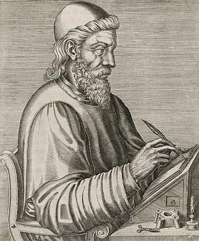 The Venerable Bede (Year c. 673-735)