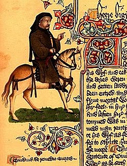 """The Canterbury Tales"" de Geoffrey Chaucer (Year c. 1387)"