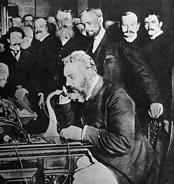 Alexander Graham Bell made the first telephone call to Thomas Watson.