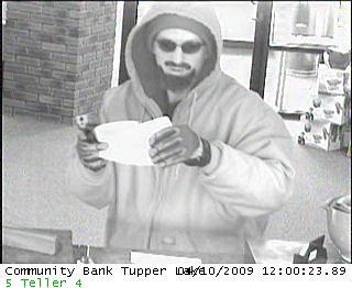 Tupper Lake, NY Bank Robbery