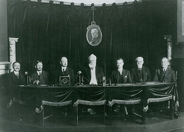The First Transcontinental Telephone