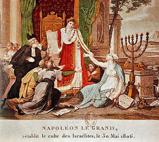 Emancipation des juifs de France = אמנציפציה. מתן שוויון זכויות ליהודי צרפת.