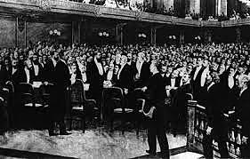 1er congrès sioniste, à Basel