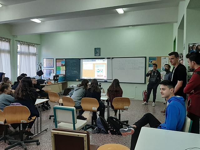 1η συνάντηση μαθητών της Περιβαλλοντικής Εκπαίδευσης