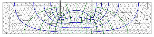 SEEP2D 2-D Finite Element Seepage Model Developed