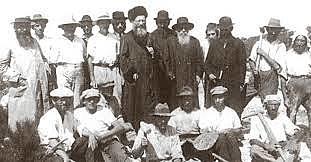 מסע הרבנים למושבות - הרב קוק